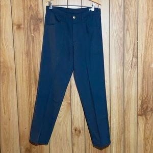 Farah VINTAGE navy blue slacks